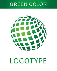 logotype green color