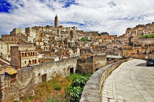 starożytna Matera - podróż we Włoszech serii - Basilicata