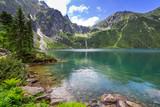 Fototapety Eye of the Sea lake in Tatra mountains, Poland