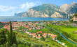 The Lake Garda (Lago di Garda) Italy.
