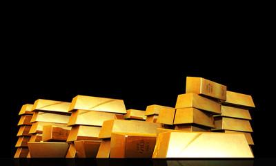 gold ingots