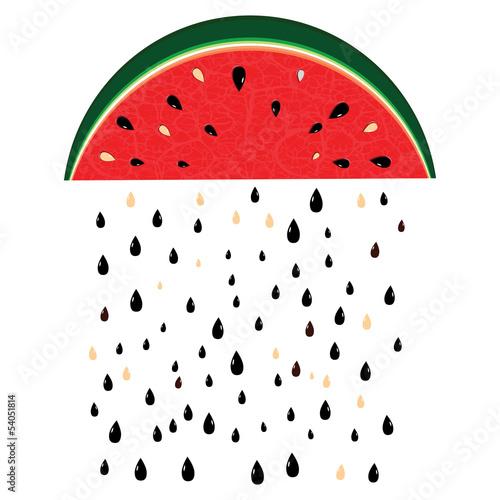 watermelon rain - 54051814