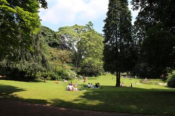 Jardin public (Parc Vauban - Lille)