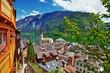 pictorial Alpine villages -Hallstatt