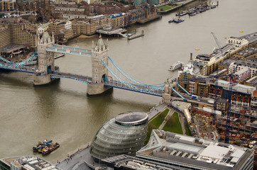 River Thames at Tower Bridge