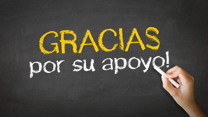 Thank you for your support (In Spanish)