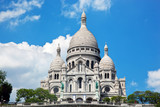 Sacre-Coeur Basilica. Paris, France.