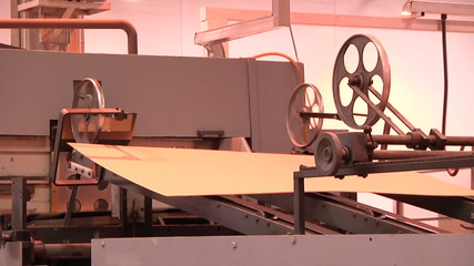 production of cardboard  3