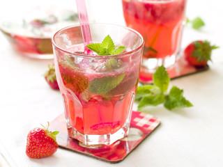 strawberry mojito or lemonade
