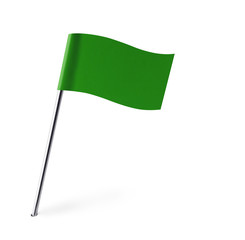 Green Wave Flag