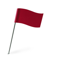 Red Wave Flag