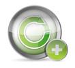 cycle illustration button illustration design