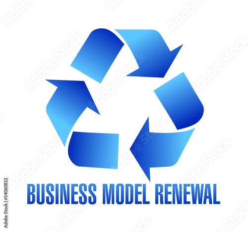 business model renewal illustration