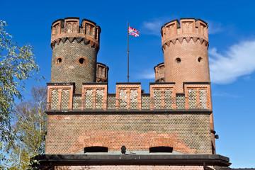 Friedrichsburg Gate - old Fort Koenigsberg. Kaliningrad, Russia
