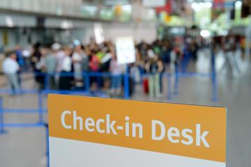Flughafen zur Feirenzeit