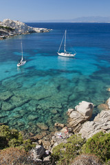 The Bay of Cala Spinosa in Sardinia