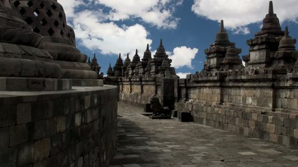 Borobudur. Buddhist Temple. Java, Indonesia.