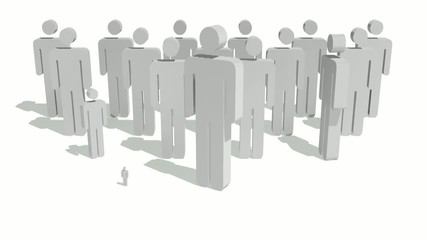 A concept video depicting a team leader leading a group.