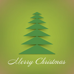 Christmas tree background.  Vector eps10.