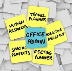 Office Administrator Job Duties Meeting Travel Planner Executive