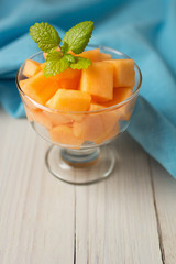Cantaloupe Melon Dessert