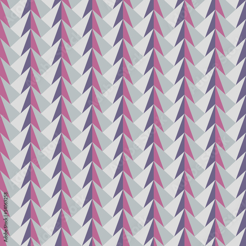Tuinposter ZigZag abstract geometric pattern