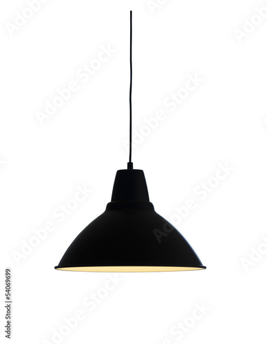Isolated pendant lamp