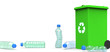 3D Plastic Bottles, Recycling