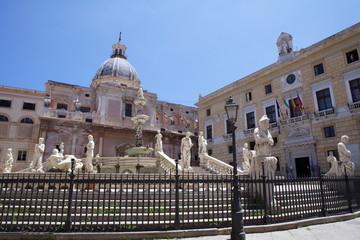 Piazza Pretoria,Palermo.