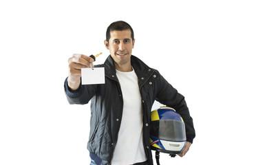 offering a card keys