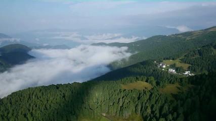 Über den Wolken - Luftaufnahme