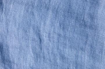 leinenstoff blau