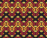 Ukrainian ethnic seamless ornament, #70, vector