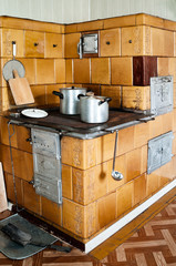 Old-fashioned Kitchen Stove