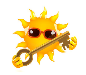 Sunshine has a golden key