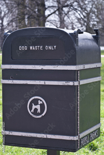 dog waste only