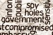Spy holes government