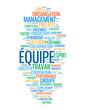 """Nuage de Tags """"EQUIPE"""" (gestion projets travail esprit d'équipe)"""