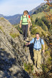 Herbstwanderung in den Bergen