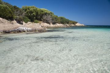 The Bay of Cala Granu in Sardinia