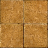 Ceramic brown stone tiles seamlessly tileable poster