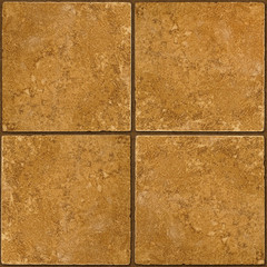 Ceramic brown stone tiles seamlessly tileable