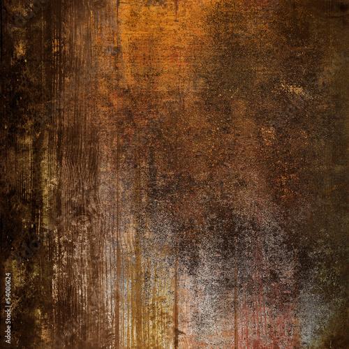 vintage legno e metallo