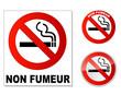plaque Non Fumeur