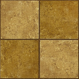 Ceramic two-tone greenish brown stone tiles seamlessly tileable poster