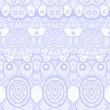 Ethnic seamless pattern. Indian