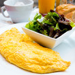omelet on table