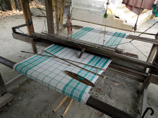 Loom in a Bodo village, Assam, NE India