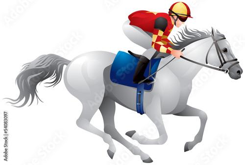 Derby white horse