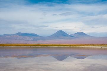 Andes mountain range near San Pedro de Atacama(Chile)